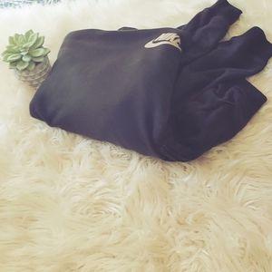 Black Nike Cowl Neck Sweatshirt